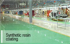 synthetic resin coating